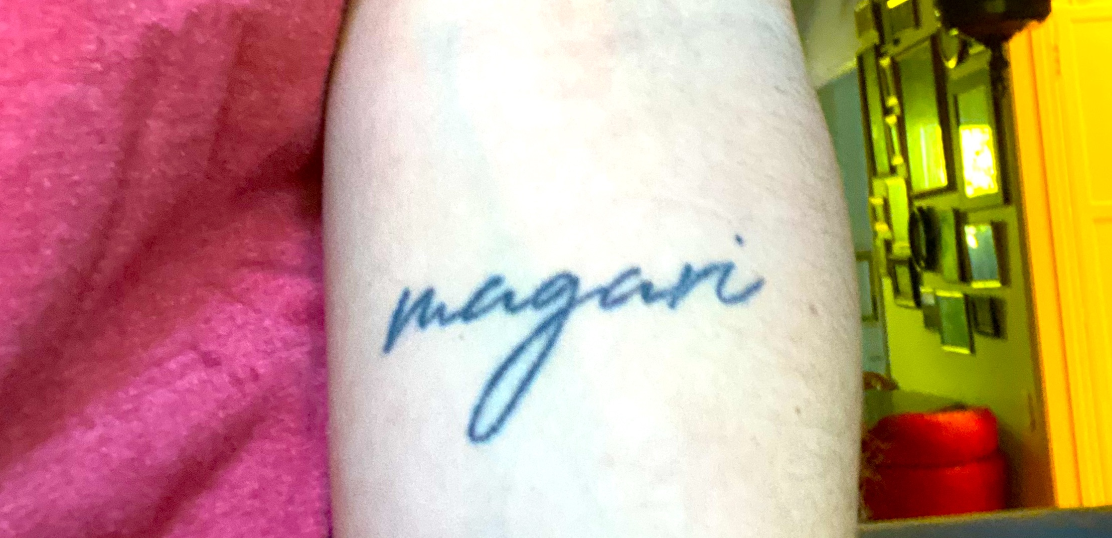 What does Magari Mean in Italian